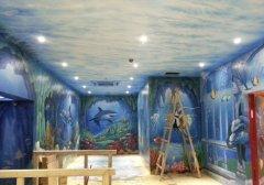 海底世界主题游乐园绘制